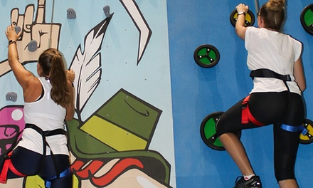 $7 for OneHour Indoor Rock Climbing Session at Turbo Climb Up to $18 Value
