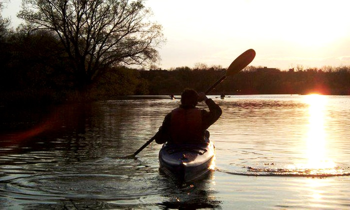 Toronto Adventures Inc. - Toronto: Scenic Two-Hour Guided Paddle on Humber River from Toronto Adventures (Up to 54% Off). Three Options Available.