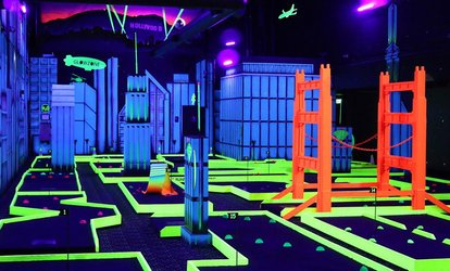 image for Interactive Activities at Glowzone (Up to 38% Off)