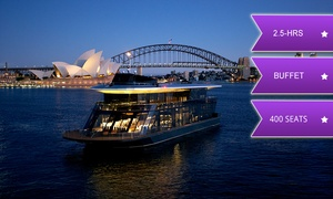 Starship Sydney: 2.5-Hour Vivid Cruise with Buffet Dinner for a Child ($59) or Adult ($79) with Starship Sydney (Up to $150 Value)