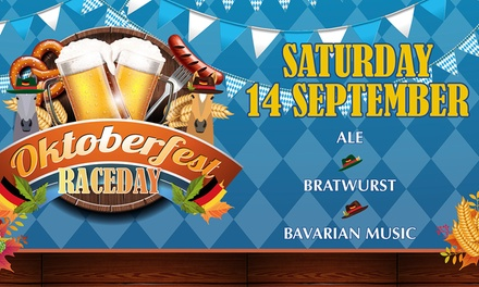 Oktoberfest Raceday, One or Two Premier Admission Tickets, 14 September, Lingfield Park