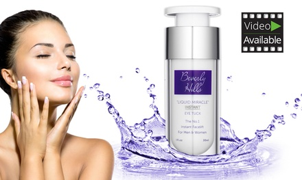 One, Two or Three Bottles of Beverly Hills Liquid Miracle Instant Facelift and Eye Tuck