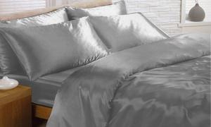 Parure de lit 3 pièces en satin -27% réduction