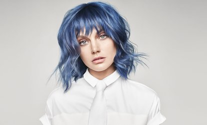 image for Basic Color Treatment or Partial or Full Foil Highlights at Paul Mitchell School (Up to 45% Off)