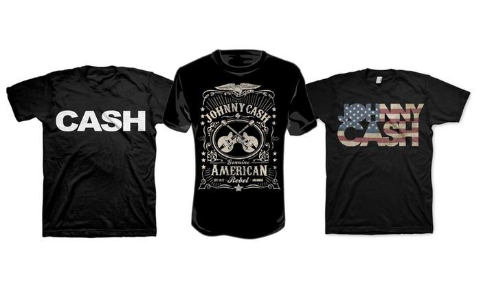 johnny cash t shirts groupon goods