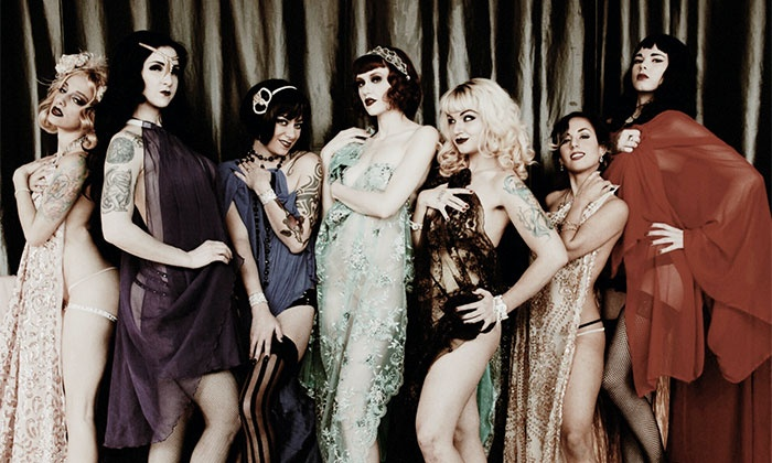The Sinner Sisters Damnation Cabaret - Eiffel Society: 'The Sinner Sisters Damnation Cabaret' Burlesque Performance on February 4 at 9:30 p.m.