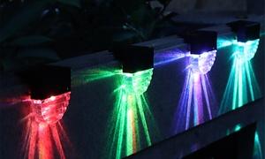 Pack de 4 lampes solaires