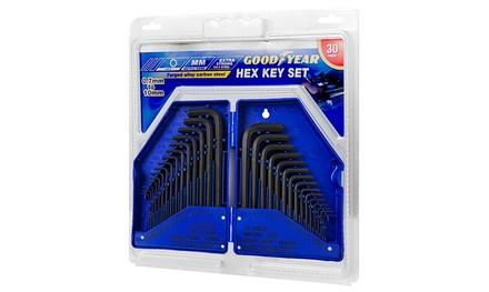 Goodyear Steel Allen Key Set