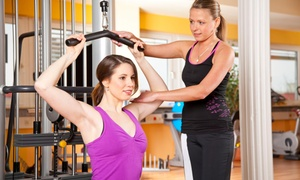 Divine Fitness: Three Personal Training Sessions with Diet and Weight-Loss Consultation from Divine Fitness (65% Off)