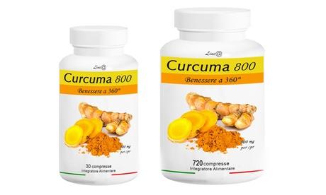 Hasta 720 tabletas de Curcuma 800 360° Line@Diet para bajar de peso y promover el bienestar Oferta en Groupon