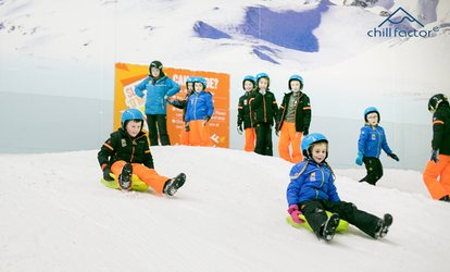90-Minute Snow Fun Pass with Clothing Hire for One or Two at Chill Factore (Up to 56% Off)