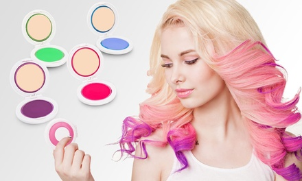 One, Two or Four FourPiece Temporary Hair Chalk Sets