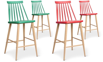 Set of Two Trouville Bar Chairs for £154.98 With Free Delivery