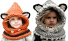 Think Global General Trading: One (AED 59) or Two (AED 99) Children's Hooded Scarves