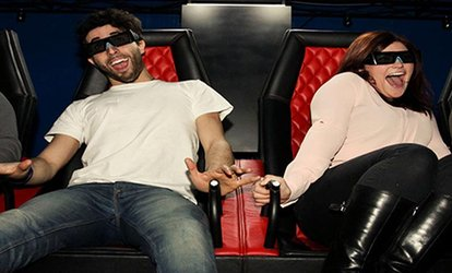 image for One or Two 5D Cinema Tickets for Up to Four People at Vertigo VR (Up to 55% Off)