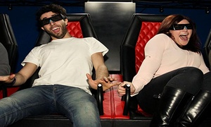 Vertigo VR: One or Two 5D Cinema Tickets for Up to Four People at Vertigo VR (Up to 55% Off)