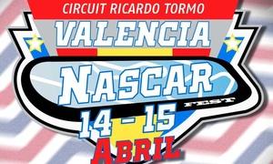 """Valencia Nascar Fest: 1 abono general a """"Valencia Nascar Fest"""" el 14 y 15 de abril para adulto o niño desde 5,50 € en Circuit de Valencia"""