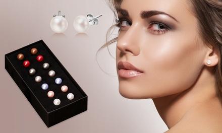 1 ou 2 Coffrets de 7 paires de boucles d'oreilles en perles d'eau douce dès 12.98€
