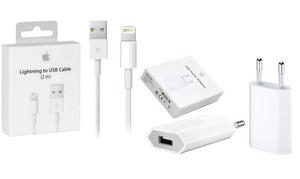 Câble lightning® 2 m et/ou adaptateur secteur Apple, livraison offerte