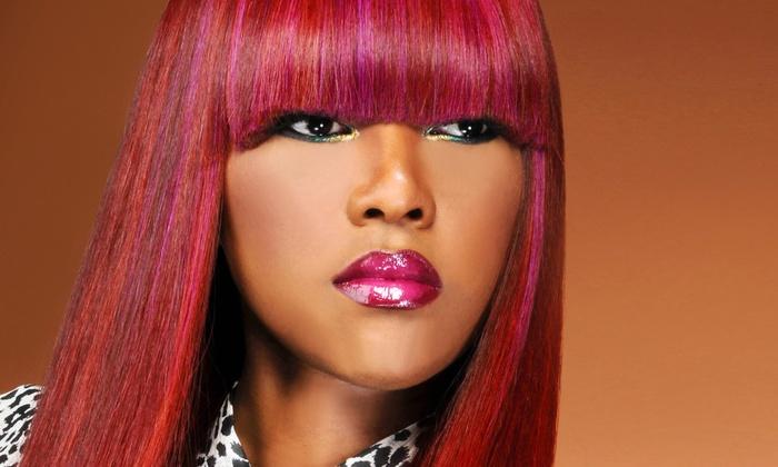 G Casamera Hair Salon - Kingsessing: Up to 52% Off Haircut, Curl & Weave Options at G Casamera Hair Salon