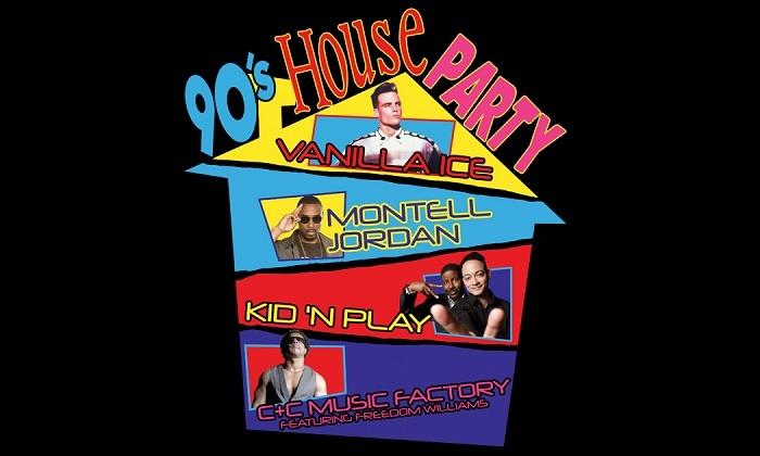 e2828f3a Vanilla Ice and Montell Jordan - 90's House Party: Vanilla Ice ...