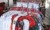 Dekbedovertrekset Santa Presents