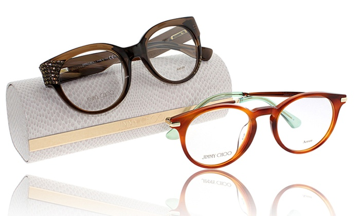 cd75d3d0ef43 Up To 75% Off on Jimmy Choo Optical Frames