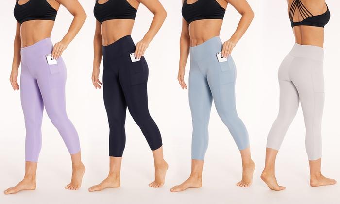 17eef2b8abb Bally Fitness High Waist Capri Leggings with Pockets