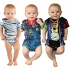 Faux Real Infant Boys' Costume Rompers