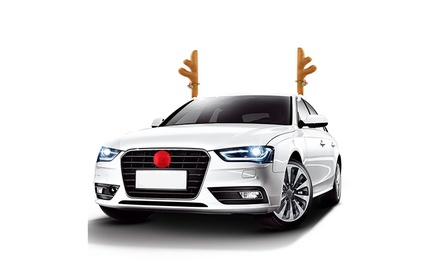 Christmas Car Costume Decoration: One or Two