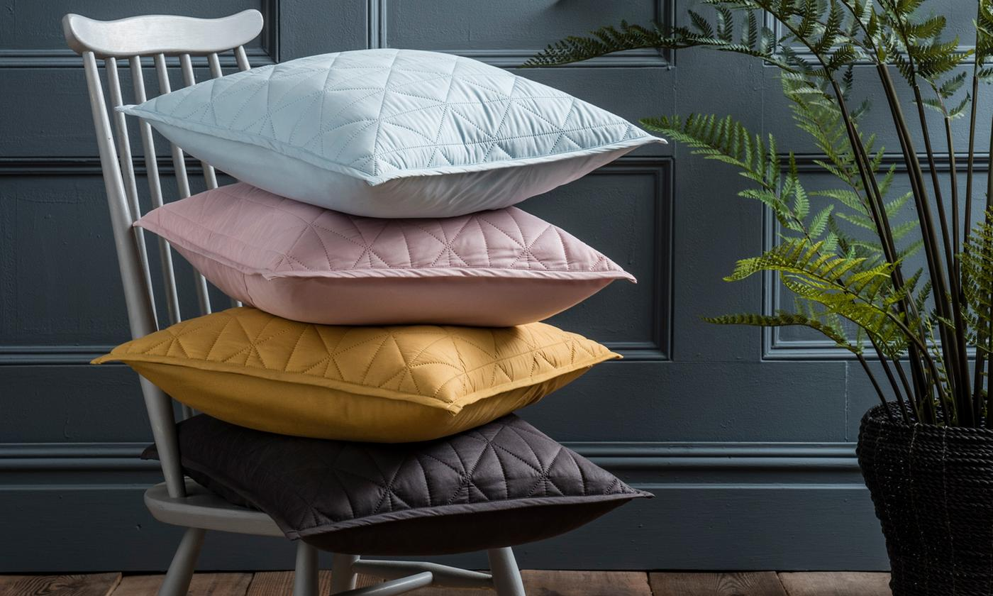 Pinsonic Easy-Care Bedroom Range: Filled Cushion, Throw or Duvet Cover Set from £6.99 (75% OFF)
