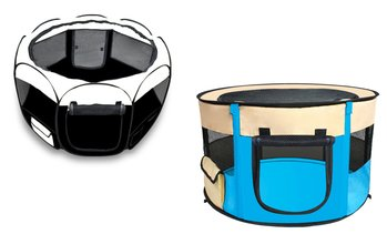 Portable Soft Pet Playpen