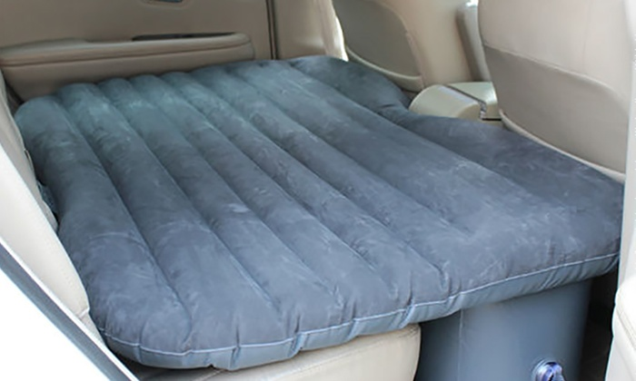 matelas gonflable pour voiture groupon shopping. Black Bedroom Furniture Sets. Home Design Ideas