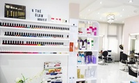 Split Ends Treatments with Optional Wash and Blow-Dry at The Glam House (Up to 74% Off)