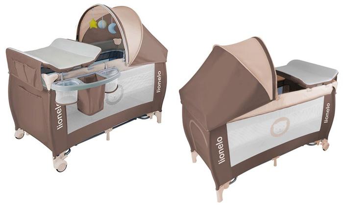 baby reise oder beistellbett groupon goods. Black Bedroom Furniture Sets. Home Design Ideas