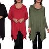 Women's Oversized Cowl Neck Tunic