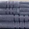 Lavish Home 100% Cotton Bath Towel Set (8-Piece)