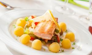 Ankes Restaurant & Pension Koje 7: Maritimes 3-Gänge-Menü für Zwei oder Vier mit Seelachsfilet in Ankes Restaurant & Pension Koje 7 ab 21,90 €