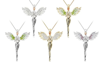 One or Two Guardian Angel Necklaces