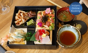 Izakana-ya Okuman: Japanese Chirashi Bento Box for One ($29), Two ($55) or Four People ($99) at Izakana-ya Okuman (Up to $236 Value)