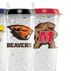 NCAA Crystal Freezer Travel Tumblers