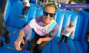 Inflatable Colour Run: Inflatable Colour Run on 11 June - 20 August at a Choice of Locations (Up to 34% Off)