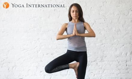 Free 90-Day Trial Membership to Yoga International