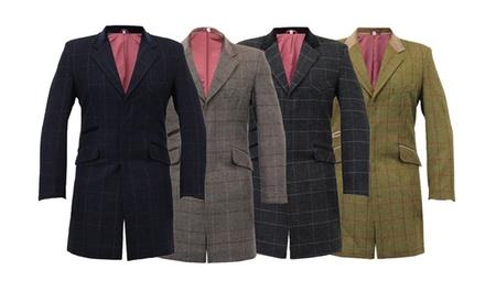Men's Checked Coat
