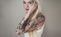 Paga 19,95 € por un descuento de 110 € en un tatuaje negro o a color en Cinderella Tattoo Studio