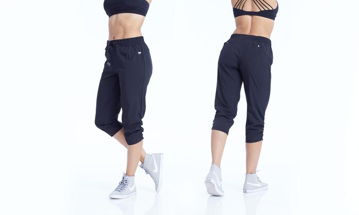 cda2eaf85cab Marika Women s Stretch Woven Capri Pants (Sizes M   L)