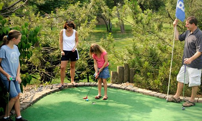 Columbia SportsPark - Columbia SportsPark: Two or Four Rounds of Mini Golf or Four Rounds of Mini Golf and Batting Cages at Columbia SportsPark (Up to 54% Off)