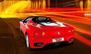 European Race Events: 30, 60 oder 90 Minuten einen Ferrari F360 Spider selbst fahren mit European Race Events (bis zu 58% sparen*)