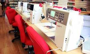 Linda Z's Sewing Center: Three-Session Sewing or Quilting Class for One, Two, or Four at Linda Z's Sewing Center (Up to 73% Off)