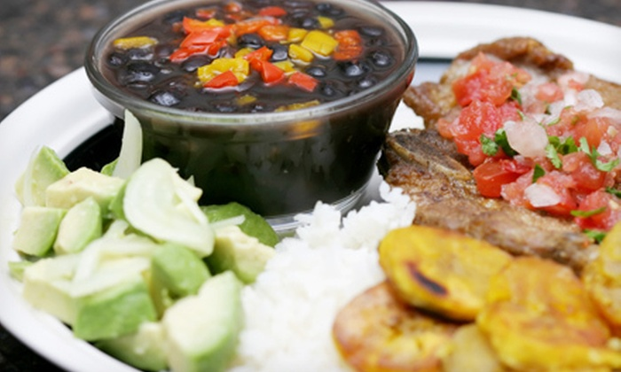 Casablanca Cuban Grill - Central Bench: Cuban Cuisine and Drinks for Lunch or Dinner at Casablanca Cuban Grill (Half Off)